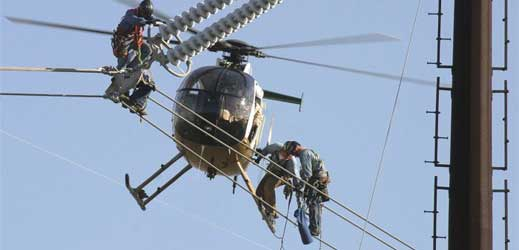 Epic Job: Meet A High-Voltage Line Inspector