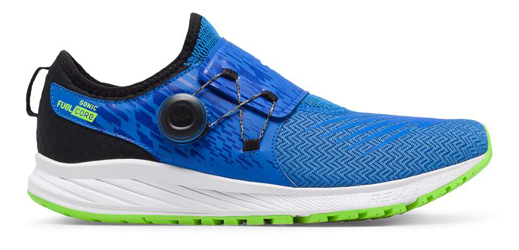 Running shoe closure systems go modern
